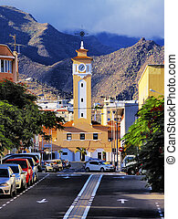 Santa Cruz - capital city of Tenerife, Canary Islands, Spain
