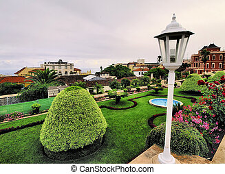 Orotava - popular city on Tenerife, Canary Islands, Spain