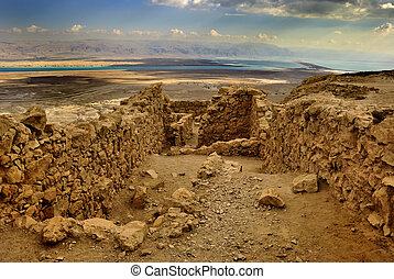 Ancient city Masada from Israel