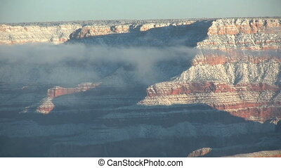 Grand Canyon Winter Landscape - a scenic landscape of the...