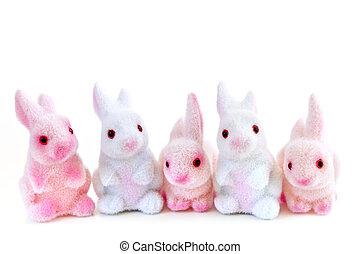 부활절, 토끼, 장난감