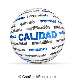 3d Quality Word Sphere In Spanish - 3d Quality Word Sphere...