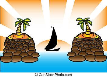 Palma yacht sun