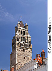 The Saint Salvador Cathedral in Bruges