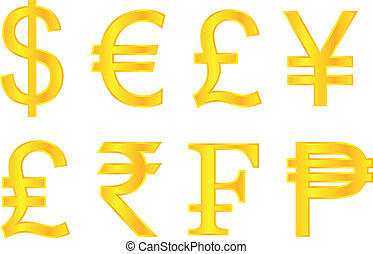 Common Currency Symbols