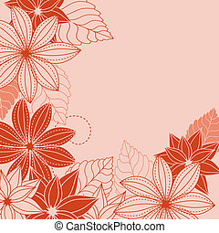 Abstrct floral background