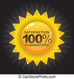 Satisfaction Guaranteed Badge - A Satisfaction Guaranteed...