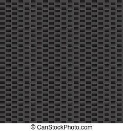 Carbon Fiber - A custom carbon fiber texture in black and...