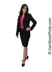 Beautiful Woman - Beautiful young upwardly mobile business...