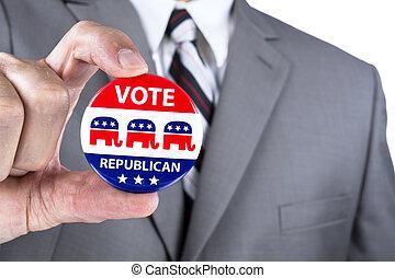 républicain, Politicien
