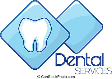 Servizi, dentale, disegno