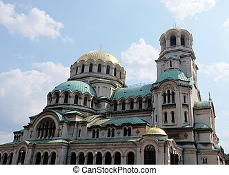 sofia church - the alexander nevsky church in sofia,...