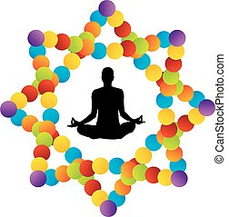 Symbol of kundalini yoga
