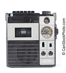 retro ghettoblaster - a fantastic looking retro tape player...