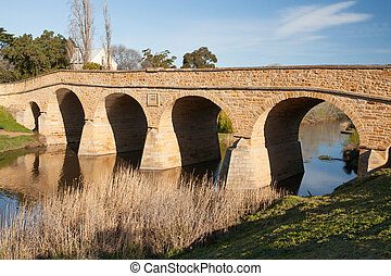 Richmond Historic Bridge - Richmond historic bridge in...