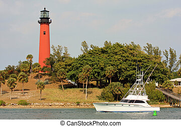 Jupiter Lighthouse  - Jupiter lighthouse in South Florida
