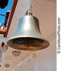 Bell on the sailing ship