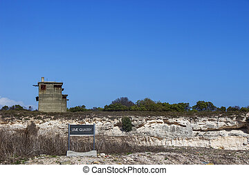 Robben Island Lime Quarry - The lime quarry on Robben Island...