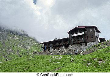 Mountain Hut in Romania (on the Transfagarasan road)