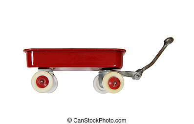 Red Wagon - Little red wagon brings back memories of...