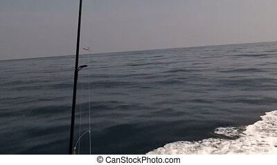 Boat travel offshore Alabama two - Boat offshore Alabama...