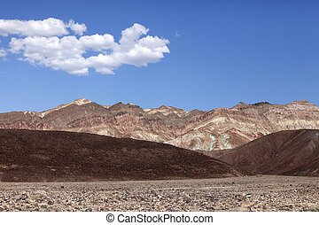 Death Valley in California - The famous section of Death...