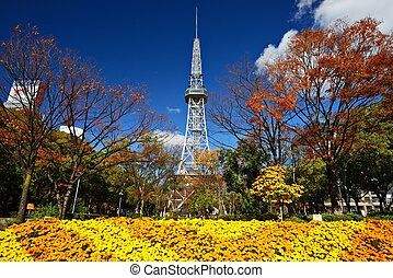 Nagoya Japan Skyline - NAGOYA - NOVEMBER 27: Nagoya TV Tower...
