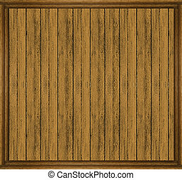 Wall Wood Frame Mock Up - Wood House Wall background texture...
