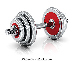Dumbbell - Creative sport, fitness and healthy lifestyle...