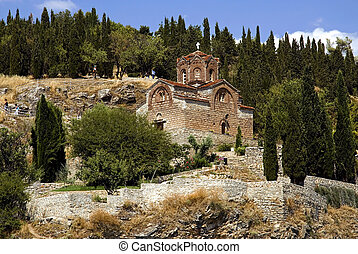 St Kaneo church in Ohrid, Macedonia