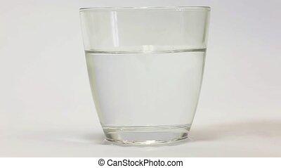 pills in water