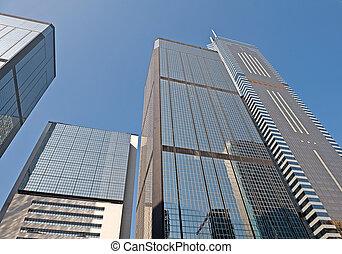 Highrise buildings in Hong Kong