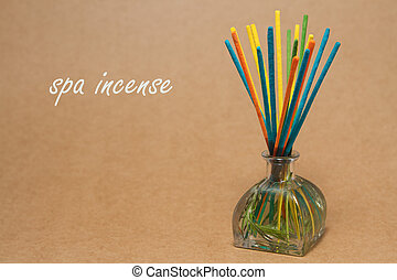Incense spa , incense sticks dipped in a aroma essential...