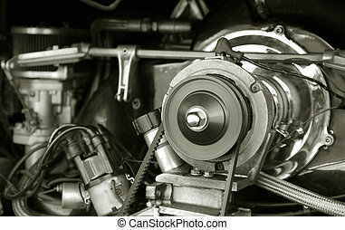 vehicle engine - vintage engine from a 1960\\\'s RV