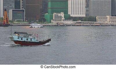 Boat in HK