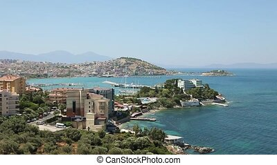 Kusadasi town, Turkey - Kusadasi is a resort town on...