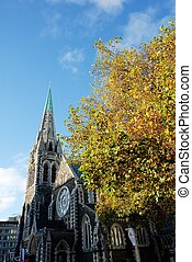 Christchurch Cathedral,New Zealand
