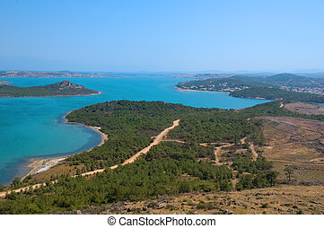 Coastal View - A view from Ayvalik, Turkey (in the Aegean...
