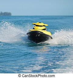 sport - Water sport in the ocean, jet skt,