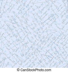Mathematics background with formulas. EPS 10