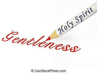 HS gentleness - Fruit of the Spirit is gentleness