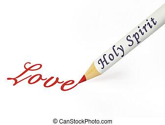 HS love - Fruit of the Spirit is love
