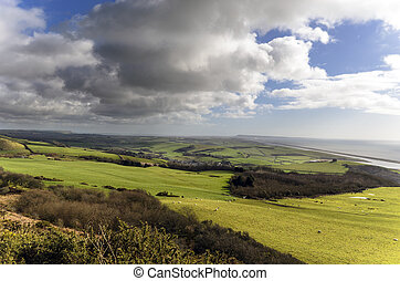 Clouds Gathering Over Abbotsbury - Clouds gatthering over...