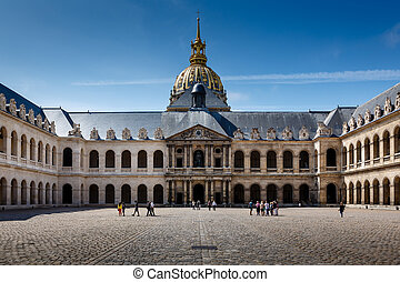 Les Invalides War History Museum in Paris, France