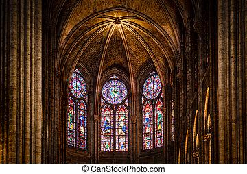 Notre Dame de Paris Cathedral, France - PARIS - JULY 1:...