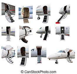 ladder in a private jet - photo off ladders in a private jet