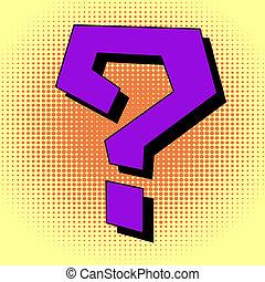 pregunta, estilo, arte, Taponazo, marca
