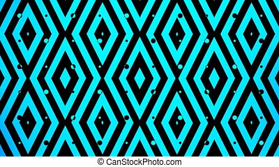 blue color square pattern