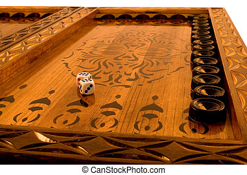 Backgammon the most fascinating board game