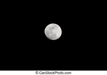 Full Moon illuminated by the sun